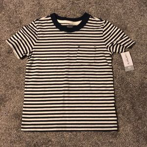 NWT Blue Striped Shirt
